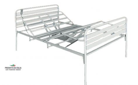 99.11/120E-M Orthopedic Bed 4 Sections, Electric Movements, Width 120 cm