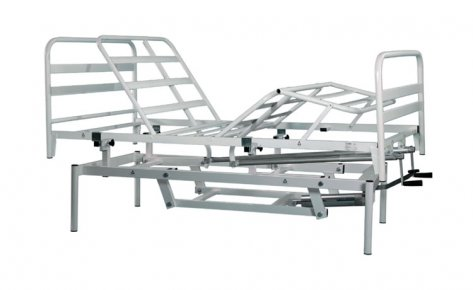 99.11-AV Orthopedic Bed 4 Sections 2 Cranks, Hydraulic Variable Height