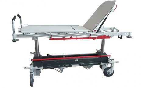 Stretcher with hydraulically variable height on two columns mod.30.11ETR-5R